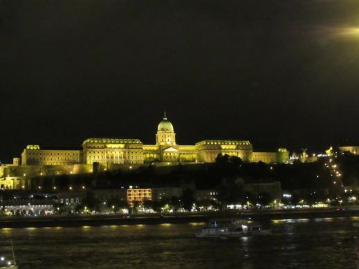Buda Castle Night